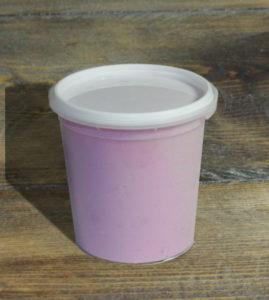 Yogurt al cucchiaio alla fragola